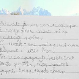 Théo, 10 ans, écovolontaire du premier Week-end sciences en famille © CREA Mont-Blanc