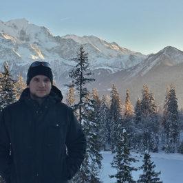 Geoffrey Klein, doctorant en climatologie à l'Université de Neuchatel