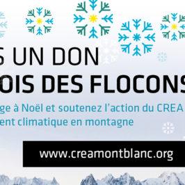 Campagne de dons de Noël du CREA Mont-Blanc
