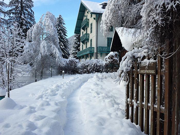 Plus de 50 cm au sol en ce début de mois de décembre à Chamonix © GKlein