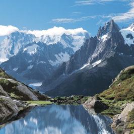 ñvolution des paysages géomorphologiques du Massif du Mont-Blanc © LRavanel