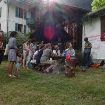 Retrospective on our creative and cartographic workshop with Chamonix residents