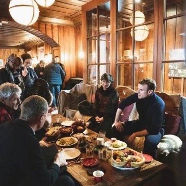 CREA Mont-Blanc met with Emmanuel Macron